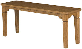 harvest dining bench