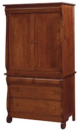 Complementary Style,Classic Armoire Dresser