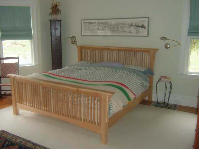fabulous mission style wood bed frame 11