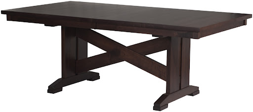 "80"" x 42"" Santego Table in Smoky Walnut"