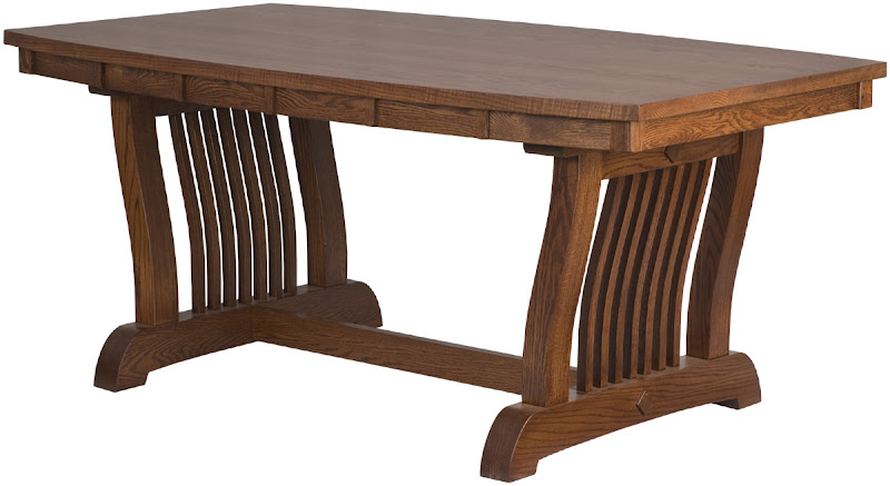 western dining table erik organic