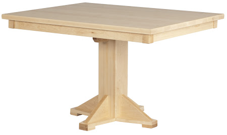 Woodland Dining Table in Natural Hard Maple