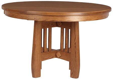 "48"" Diameter Sonora Round Table in Autumn Oak"