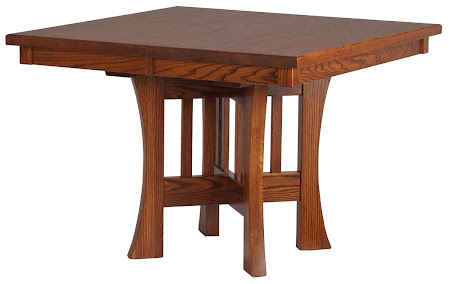 "42"" x 42"" Craftsman Kitchen Table in Autumn Oak"