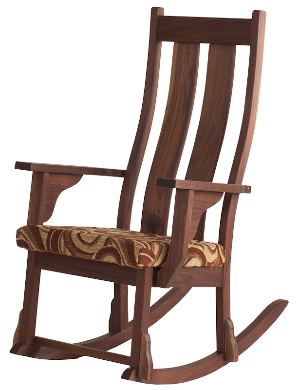 Custom Seneca With Fabric Seat, In Oil U0026 Wax Walnut