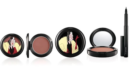 mac venomous villains cruella blush powder eyeliner