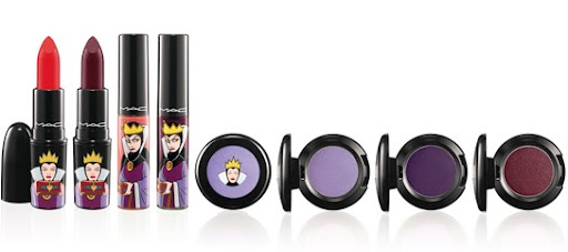 mac venomous villains evil queen lipstick lipglass eyeshadow