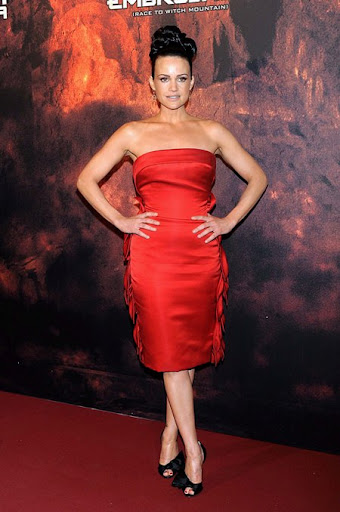 Jennifer Garner Looking Awesome In Red Dress