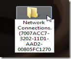 Renaming for Networks connection shortcut