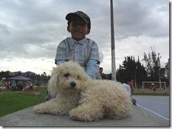 Nice Kid & Poodle