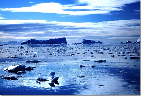 Blue Sea Of Ice