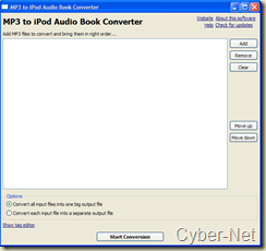 da mp3 a audio libri per ipod on Cyber-Net