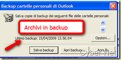 Outlook Backup on Cyber-Net