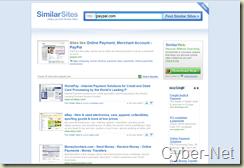 Similar Web on cyber-Net