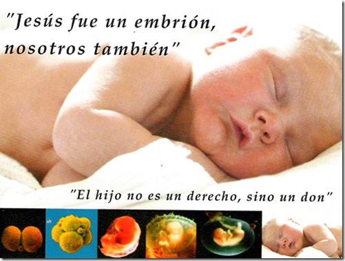 Jesus embrion