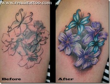 Star Tattoo Cover Ups