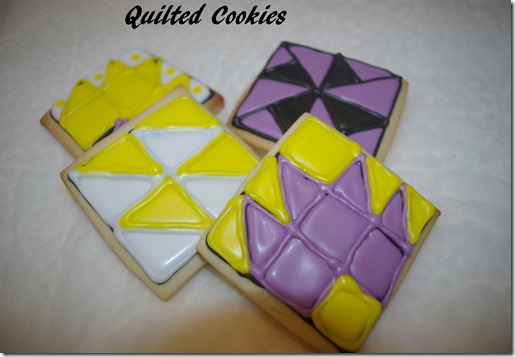 quilted cookies