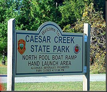 CaesarCreekSign