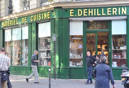 dehillerin exterior with M Dehillerin
