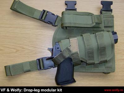 wolfy, kit modular, toc pistol