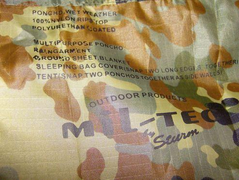 Poncho Ripstop MilTec