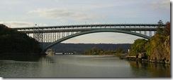 Puente Henry Hudson, foto por Jim Henderson (vía Wikipedia)