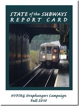 Portada del Informe del Estado del Metro