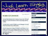 Justlearn english