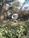 武汉大学慧眼雕塑景观