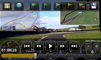 Screenshot of aLapRecorder HD
