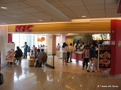 and of course i have to include this kfc in singapore
