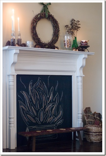 caught in grace a faux fireplace transformation