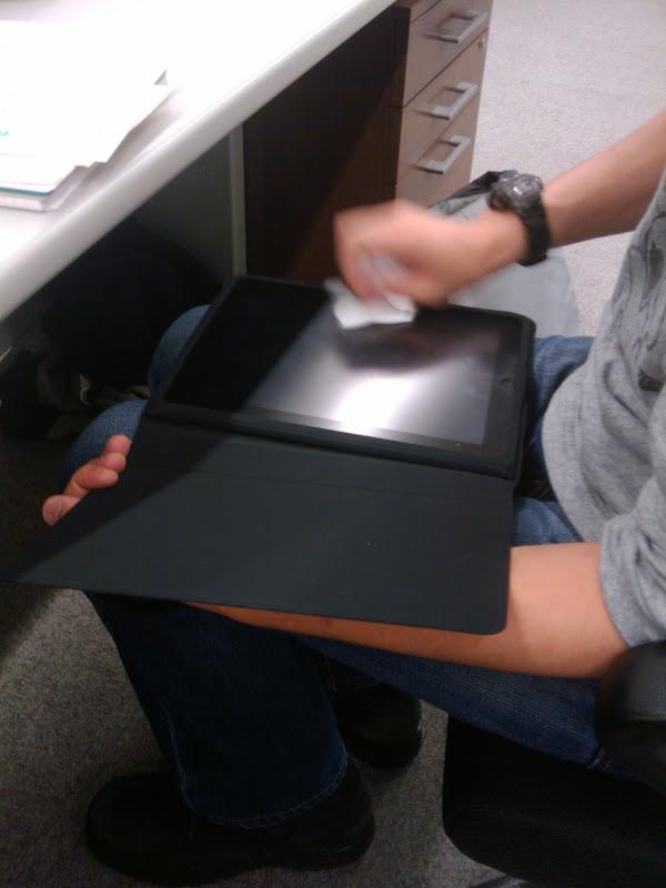 iPad触ってみた(WiFi+3Gモデル)
