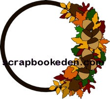 fall autumn wreath-200j