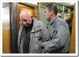 Smaha detenido en Tribunales Federales