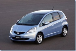 honda jazz small car