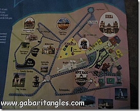 Rought Map of Ramoji Film City