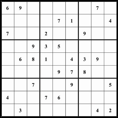 Sudoku 718