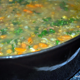 Yep! Another Soup Recipe, Bacony Lentil and Vegetable Soup