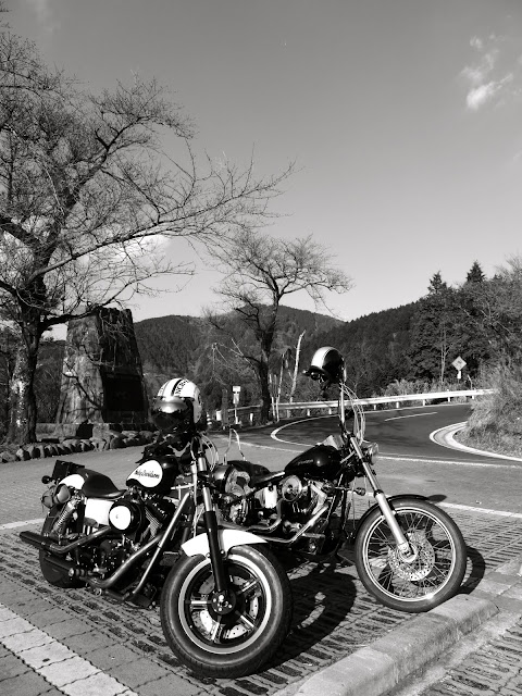 BW bikes at Yabitsu Pass