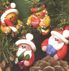 simpaticos adornos para el arbolito de navidad