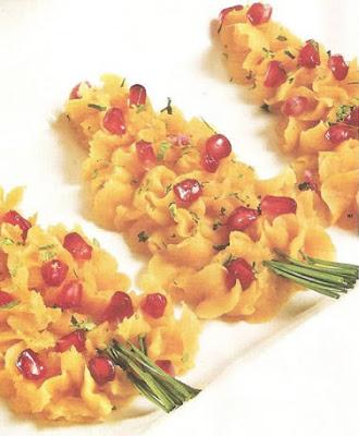 ideas para cocinar en navidad Arbolito de camote,12 porciones