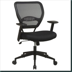 SPACE Collection  Air Grid Back Deluxe Task Chair with Mesh Seat
