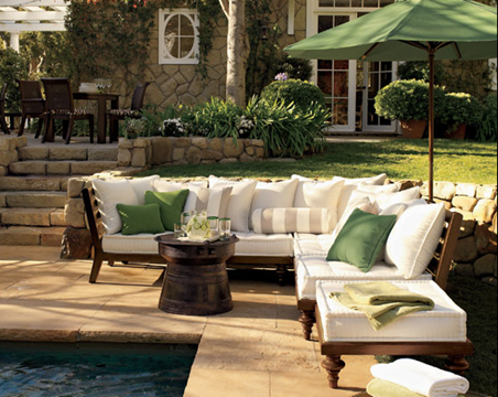 A schematic life time to go outside for Ralph lauren outdoor furniture