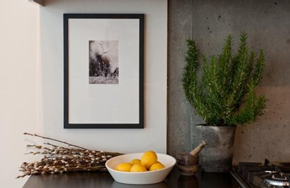 loft pics - lemon vingnette