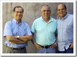 P. Antonio, P. Humberto y P. Nicanor