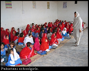 Pakistani schoolgirls