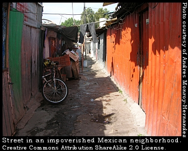 poverty in Mexico