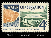 Conservation stamp