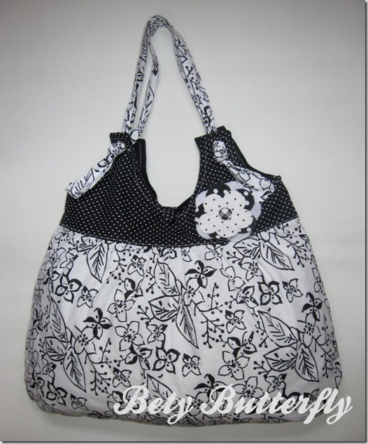 bolsa tecido algodão estampada floral feminina